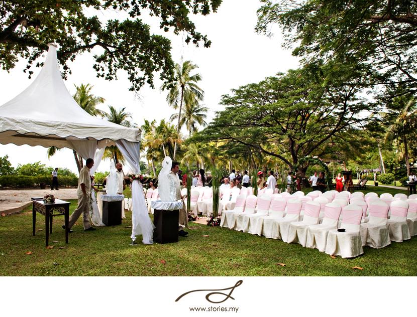 Garden wedding at shangri las rasa sayang penang greta mohit gretas junglespirit Choice Image