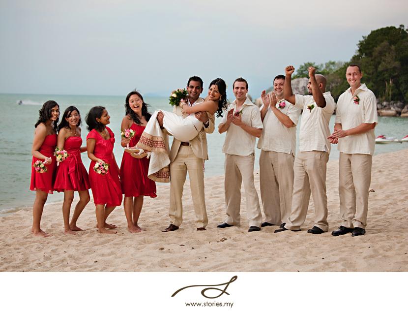 Garden Wedding At Shangri Las Rasa Sayang Penang Greta Amp Mohit Part2 Wedding Portrait